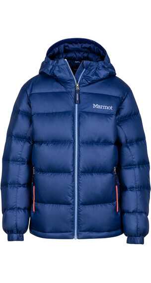 """Marmot Girls Guides Down Hoody Jacket Arctic Navy"""